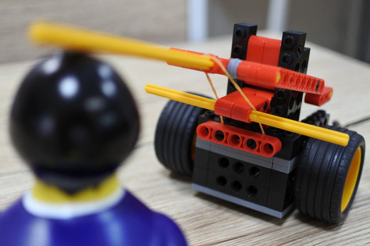 ロボット教室スタディPCネット大分高城校|ケンドーロボで一本勝負!