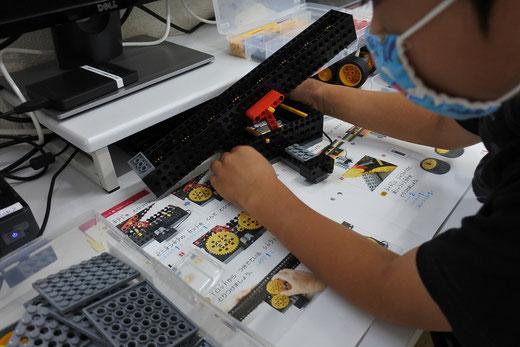 ヒューマンアカデミーロボット教室大分高城校の木曜日クラス写真
