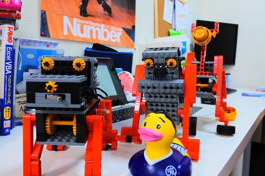 ロボット教室スタディPCネット大分高城校|今月のロボットは全て歩行系