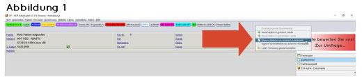 abasoft EVA Praxissoftware Arztsoftware Buttons Praxis Arzt