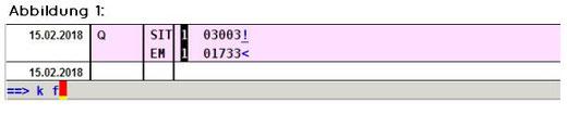 abasoft EVA Praxissoftware Arztsoftware Trennung der Ziffern-Zeil nach AKZ
