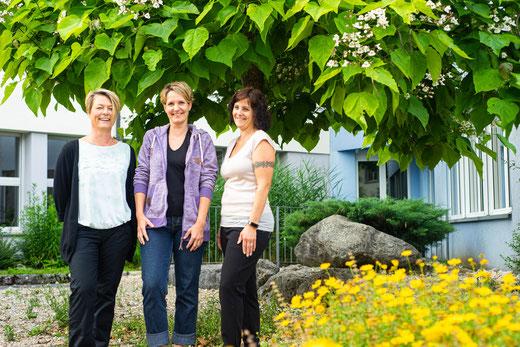 Co-Präsidium für das Schuljahr 21/22: Karin Costa, Caroline Stöckli und Alexandra Kully