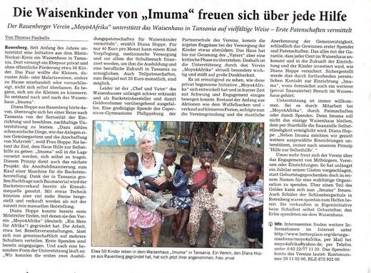 RNZ-Artikel vom 24.08.2012
