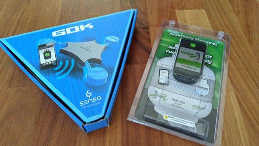 GOK Senso4S und Mopeka Ultraschallsensor