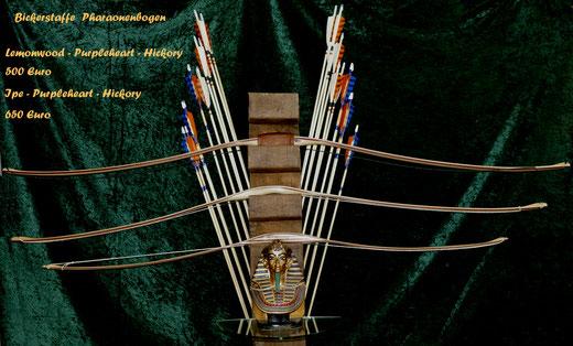 Egyptian Bow, Egypischer Bogen,Bickerstaffe Pharaonenbogen