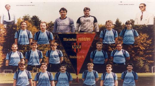 KTSV Hößlinswart Meister der Saison 1988/89 Kreisliga B