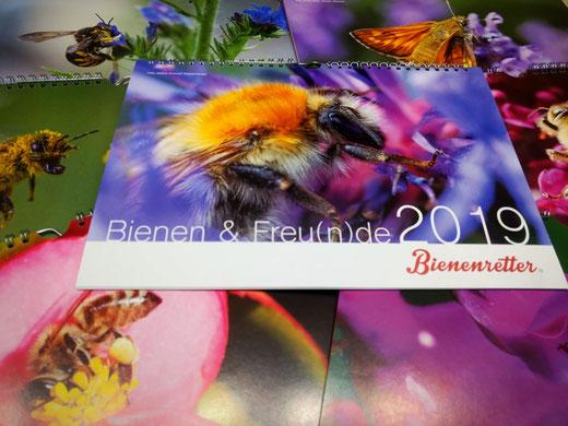 Bienenretter Kalender 2019 Bienen & Freun(n)de