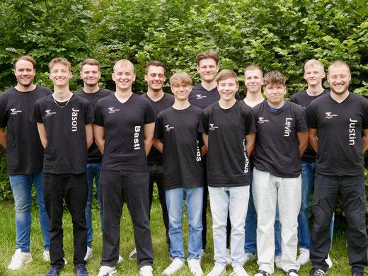 Freizeitteam Ergste 2019 - Männer Gruppenfoto