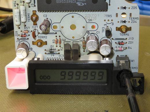 ダットサントラック D22 前期型 ODO表示不良 メーター不動 修理