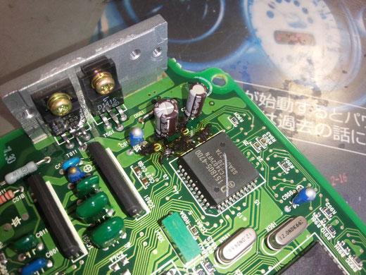 三菱 ローザ マイクロバス エンジンコンピューター修理