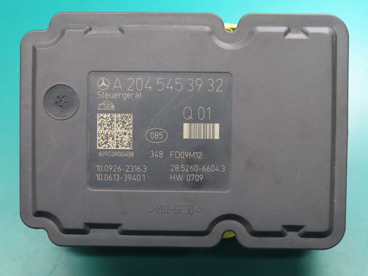 ベンツ W204 ABSコントロールユニット修理 A2045453932