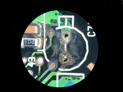 ユーノスコスモ A/Tコントロールユニット 修理