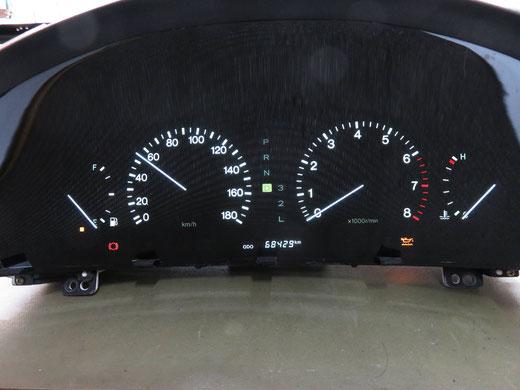 トヨタ セルシオ 20系 スピードメーター動かない メーター修理