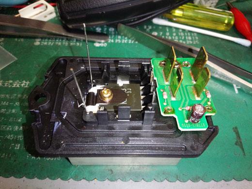 ジャガー XJ J71 ブロアモーター 回らない 修理