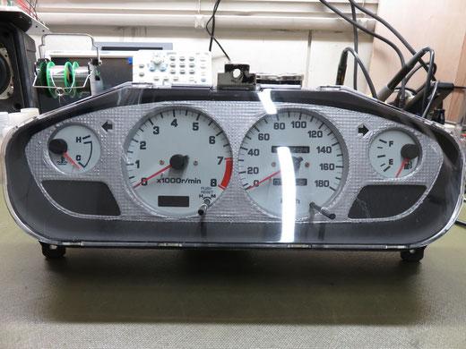 シルビア S14 タコメーター異常 メーター修理