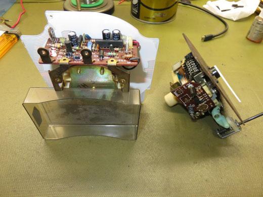 サバンナRX-7 FC3C コンビネーションメーター修理 ブザーが鳴りっぱなし