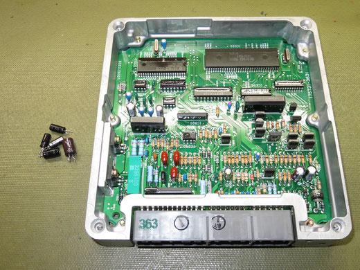 クラウン GS130 ECU予防修理 89661-30580(17500-3631)