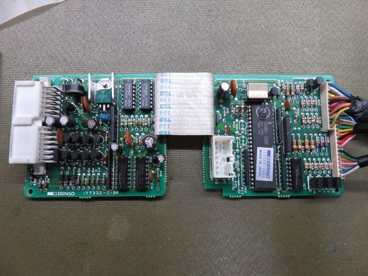 クラウンセダン GS130 エアコンパネル(アンプ)修理 55900-30641(146430-2171)