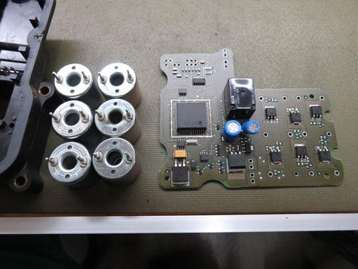 シボレーアストロ ABSユニット修理 EBCM