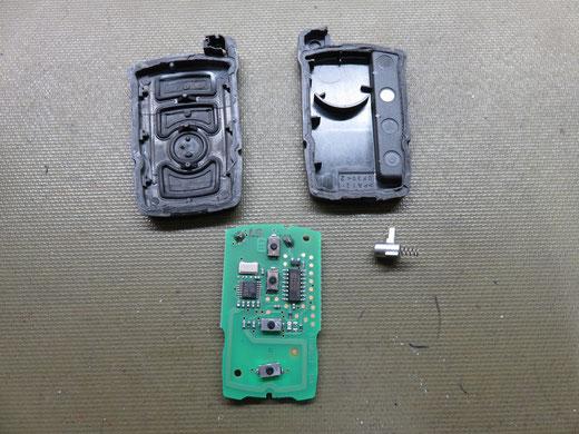 BMW キーレス リモコン修理