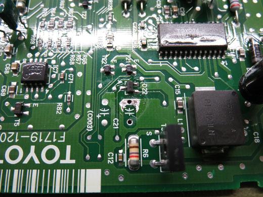 カローラ AE100 5A エンジン始動不良 ECU修理