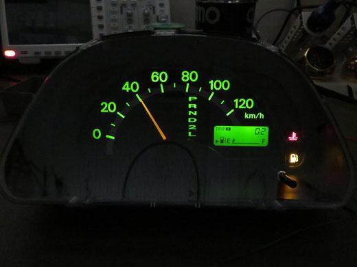 スズキ キャリィ DA63T A/T スピードメーター動かない 修理