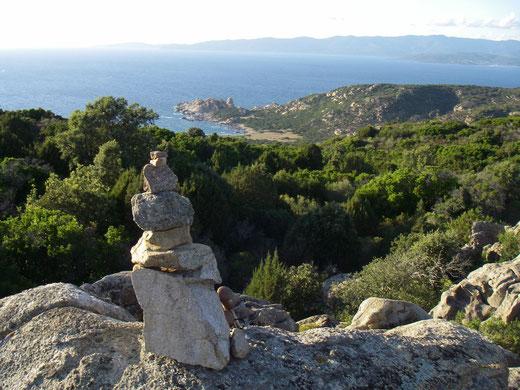 Korsika , Küste bei Campomoro