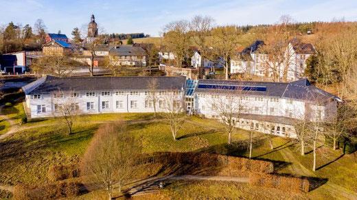 Gästehaus im Schlosspark (Schloss hinten rechts)