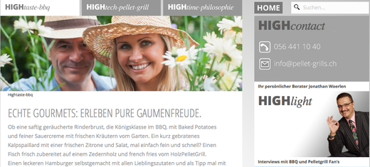 Pelletgrills von Memphis Grills in der Schweiz kaufen