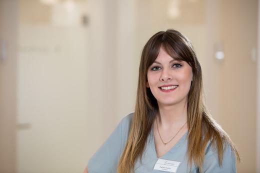 Larissa Luley, Auszubildende zur zahnmedizinischen Fachangestellten