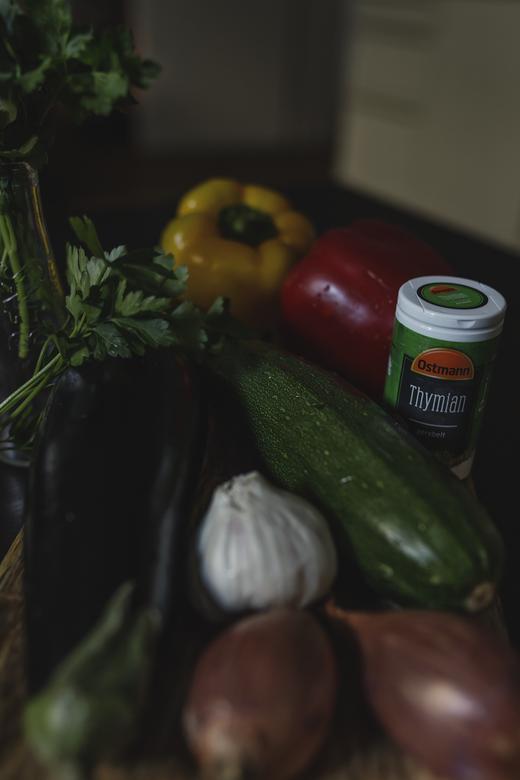 Ein köstliches Rezept für mediterranes Grillgemüse