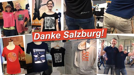 Danke Salzburg für zwei schöne Tage auf dem Kunst- und Designmarkt!