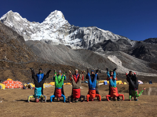 AMICAL alpin Expedition, Ama Dablam Expedition, Ama Dablam Gipfelerfolg