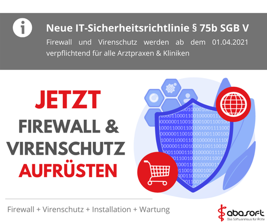 Virenschutz Firewall Arztpraxis §75b SGB Sophos IT-Security Sicherheitslösungen digitale Sicherheit Virenprogramm Netzwerksicherheit Sophos 115w Endpoint Protection
