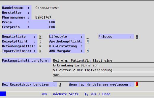 corona praxissoftware covid covid19 praxisprogramm praxisverwaltungssoftware programm arzt Atrztsoftware coronatest coronaattest