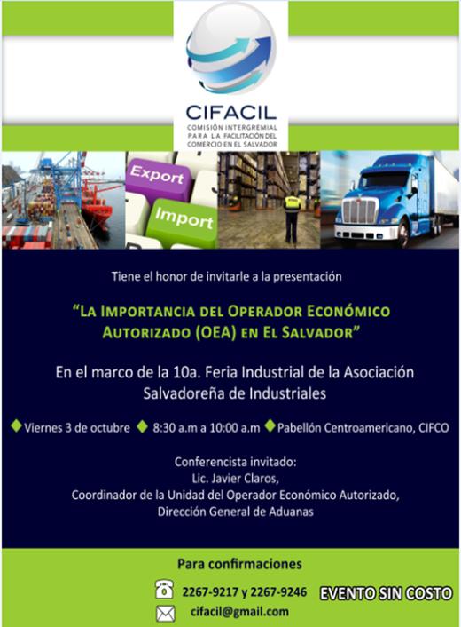 La importancia del Operador Economico Autorizado en El Salvador