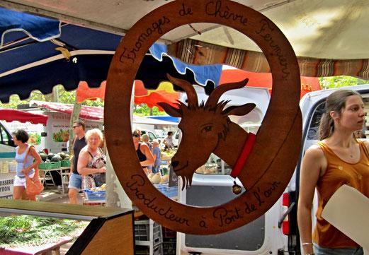 """22. Juli 2018 - Méditerranée. Samstag ist Markttag. """"Das schleckt keine Geiss weg"""""""
