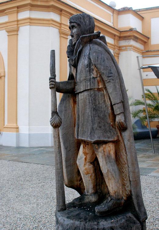19. Oktober 2017  - Koloman, ein irischer Königsohn wurde auf der Pilgerreise nach Jerusalem gefangen und hingerichtet. Heute ist er Schutzpatron des Stifts Melk.
