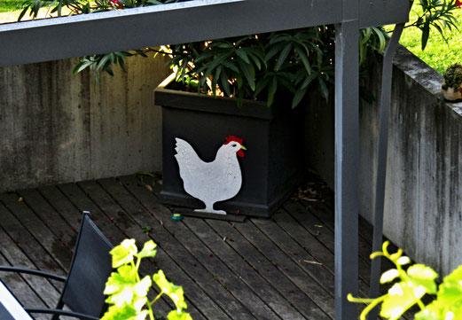 """22. September 2018 - """"Und hab ich manchmal keine Lust, ein kluger Mensch zu sein, erwacht ein Wunsch in meiner Brust und ich gestehe ein: Ich woll`t ich wär ein Huhn, ich hätt nicht viel zu tun...."""""""