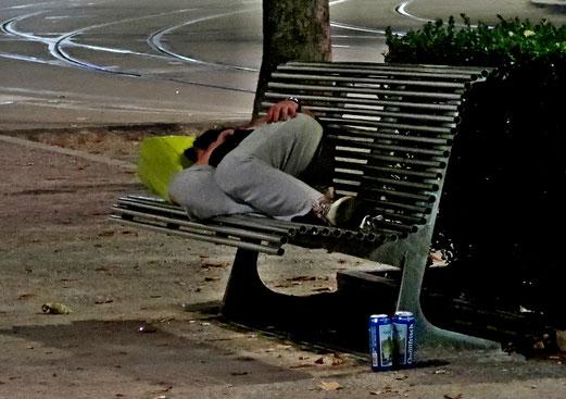17. August 2018 - Nachts um eins:  Dormez bien et faites un beau rêve !