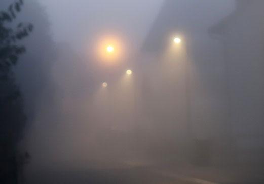 04. Oktober 2018 - Herbst. Jetzt ist er da, der Nebel!