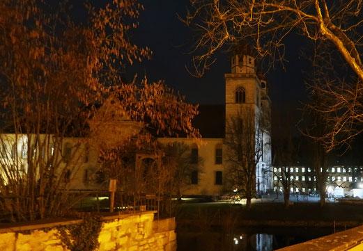 31. Januar 2018 - Zeitzeuge - vor 1230 Jahren gegründet - vor 308 Jahren im Stil des Barocks gebaut - vor 155 Jahren als Kloster aufgehoben: Rheinau