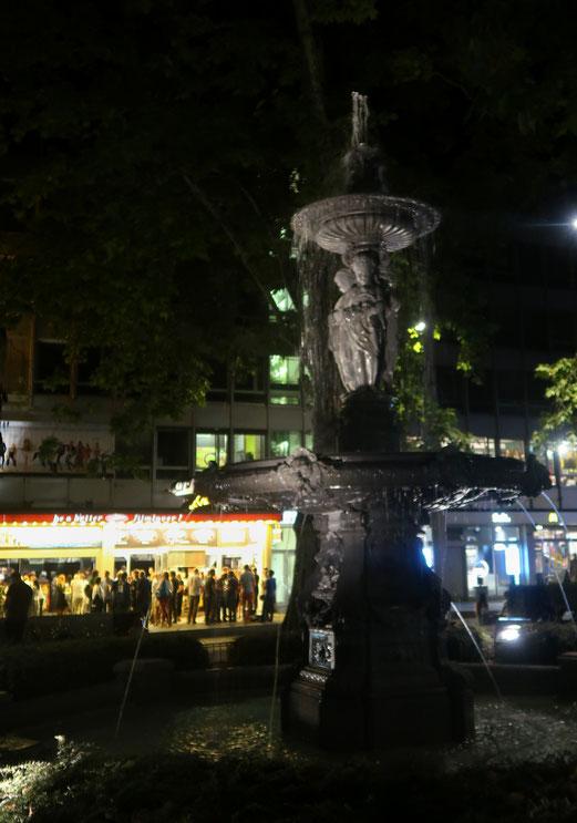 18. August 2018 -  Städtisches Nachtleben