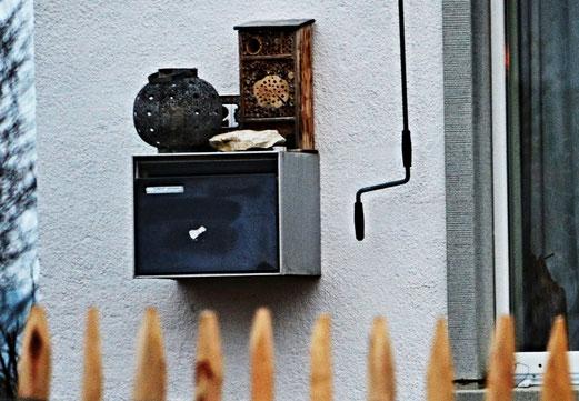 """19. Januar 2018 - Nonverbale Signale: """"Bitte keine Werbung in den Briefkasten werfen!"""""""