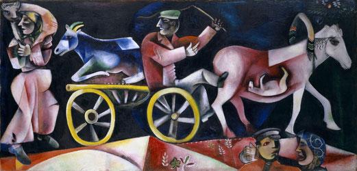 Der Viehhändler (1912) Kunstmuseum Basel