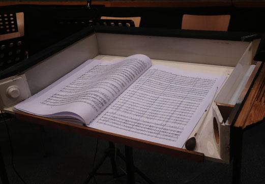23 September 2018 - Der Dirigent ist irgendwas zwischen Eunuch und Gott (Zitat Benjamin Herzog SFR)