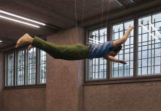 22. Januar 2018 - Kunstflug hinter Gittern. Nicht im Gefängnis, im Kunstmuseum Basel