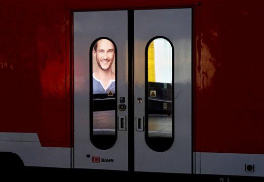 26. Juni 2017 - Es gibt auch strahlend zufriedene Gesichter in der Deutschen Bahn. Fata Morgana?
