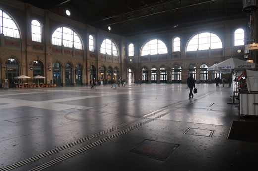 28. Januar 2018 - Nordsee im Zürcher Bahnhof