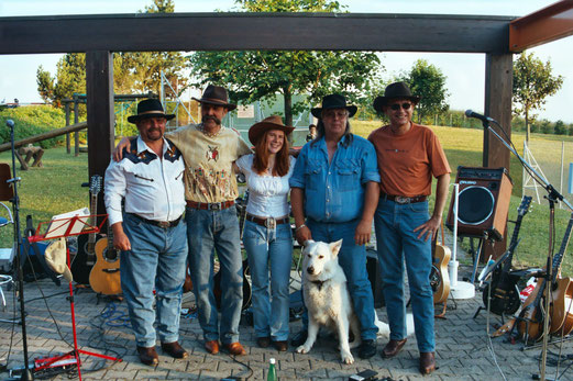 Claude, Jean-Marc, Cornelia Mala, One-Two, Manuel & Bronco